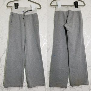 Lululemon Heather Gray High Rise Drawstring Pants